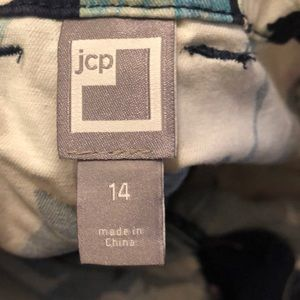 jcpenney Shorts - Floral trouser shorts